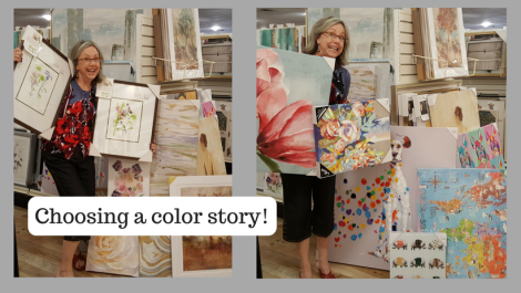 Picking a color story